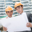 Stock Photo: Construction plan