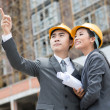 Young architects — Stock Photo #13385010
