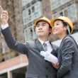 Young architects — Stock Photo