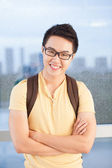Portrait of a student — 图库照片