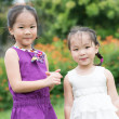 Adorable sister - Stock Photo