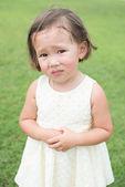 Sad expression — Stock Photo