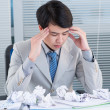 Stock Photo: Business headache