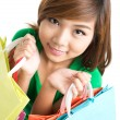 Royalty-Free Stock Photo: Look how many purchases!