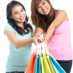 Shopper friends — Stock Photo #13902590