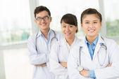 Hospital staff — Stock Photo
