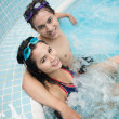 Stock Photo: Jacuzzi couple