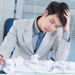 Workplace stress - Foto de Stock