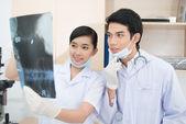 Estudantes de medicina — Foto Stock