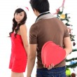 Christmas love - Stockfoto