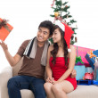 Stock Photo: Christmas entertainment