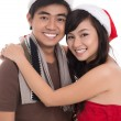 Merry couple - Stockfoto