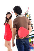 χριστούγεννα αγάπης — 图库照片