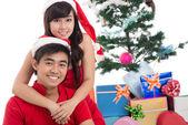 Romantische kerstmis — Stockfoto