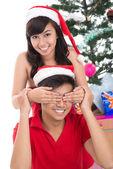 可爱的圣诞老人 — 图库照片