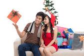Entretenimiento de navidad — Foto de Stock