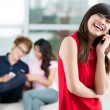 Easy-going communicator - Stock Photo
