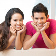Couple of smiles — Stock Photo #14993215