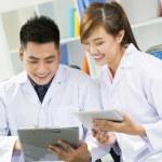εργαζόμενων γιατρών — Φωτογραφία Αρχείου