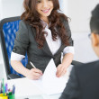 Charming employer — Stock Photo #14995109