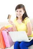 E-purchase — Stock Photo