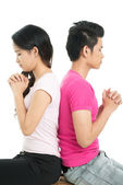 Pray for your love — Stock Photo
