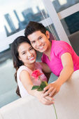 Red rose love — Stock Photo
