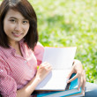 Pretty female student — Stock Photo