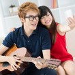 Happy teens  — Stock Photo