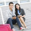 Traveling together — Stock Photo