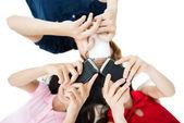 Tecnologia di comunicazione — Foto Stock