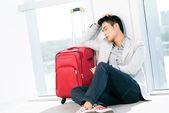 Atraso de vôo — Foto Stock