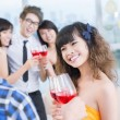 Stock Photo: Teen party