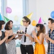 Teen celebration — Stock Photo