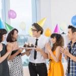 Teen celebration — Stock Photo