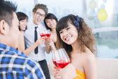 Teen party — Stock Photo