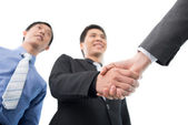 Firm handshake — Stock Photo