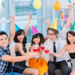 Foto Stock: Teenage party