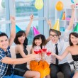 Stockfoto: Teenage party