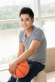 Basketball guy — Stock Photo