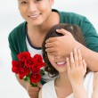 Romantic surprise — Stock Photo #18782133