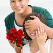 Stock Photo: Romantic surprise