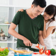 Stock Photo: Married to a cook
