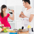Stock Photo: Kitchen wars