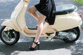 Glamorous legs — Stock Photo