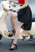 Nice heels — Stock Photo