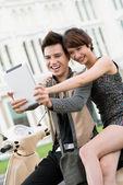Hi-tech молодежи — Стоковое фото
