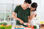 Married to a cook — Stock Photo