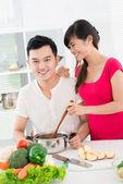 Kilku kucharzy — Zdjęcie stockowe