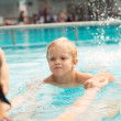Learning to swim — Stock Photo #18791255